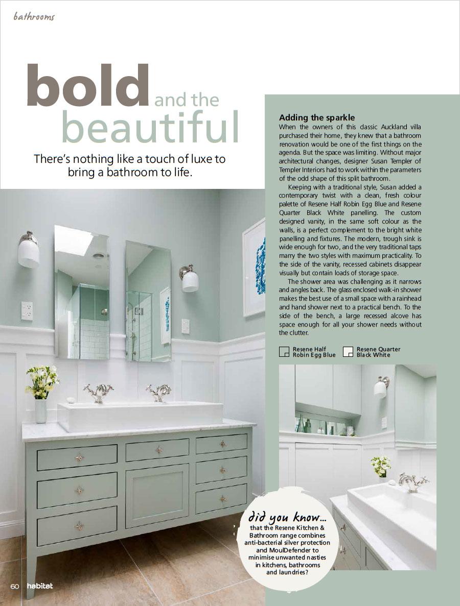 Delux bathrooms - Habitat magazine 23
