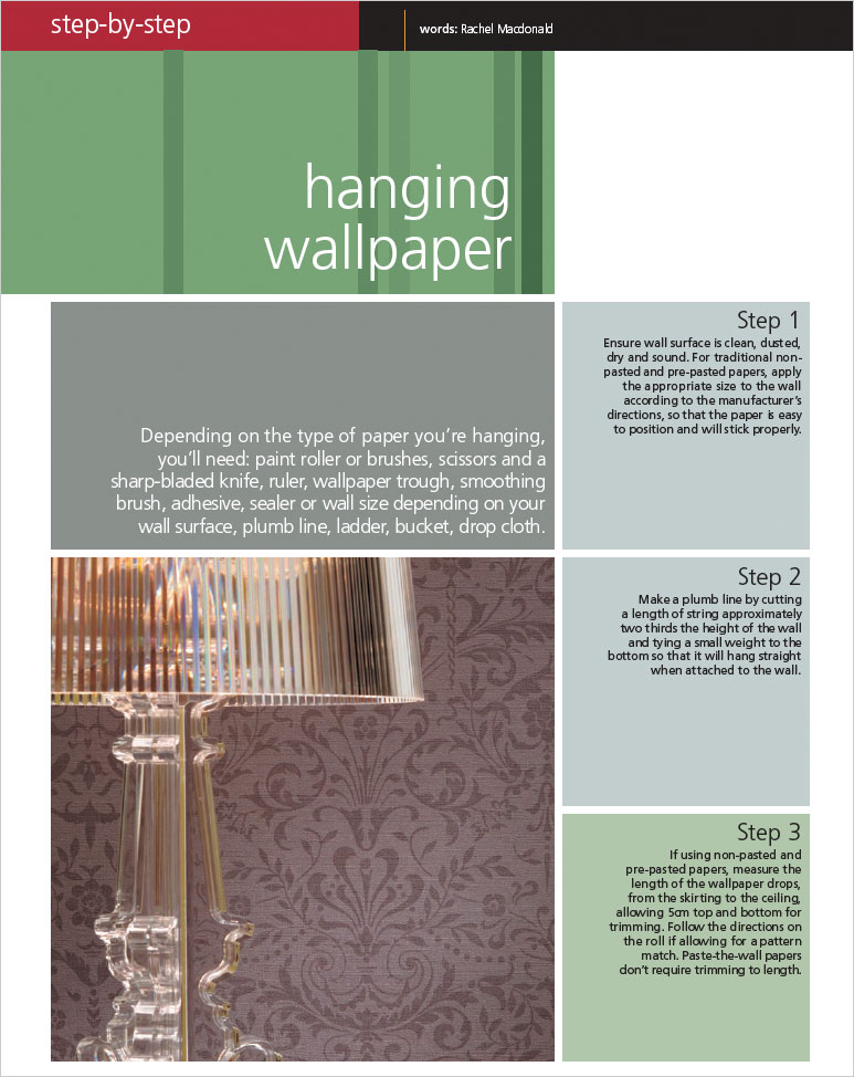 Habitat 4 - Hanging wallpaper