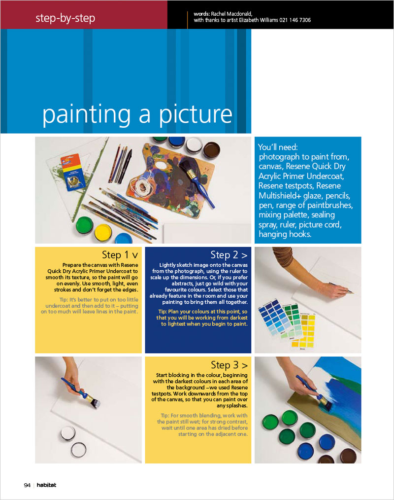 Step By Step Picture Painting