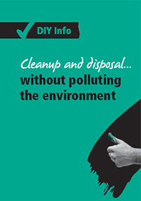 Painting - cleanup and disposal | DIY Info - Resene