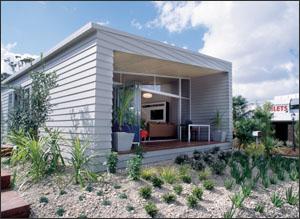 The mod pod beach house innovative design careful paint for Beach bach designs
