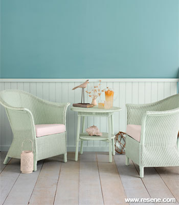 Painted Cane Furniture Has A Ne Lease Of Life