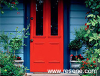 Tips from Resene Paints painting doors and windows