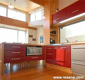 paint colors that go with redSuggested Resene colours which go with different types of wood