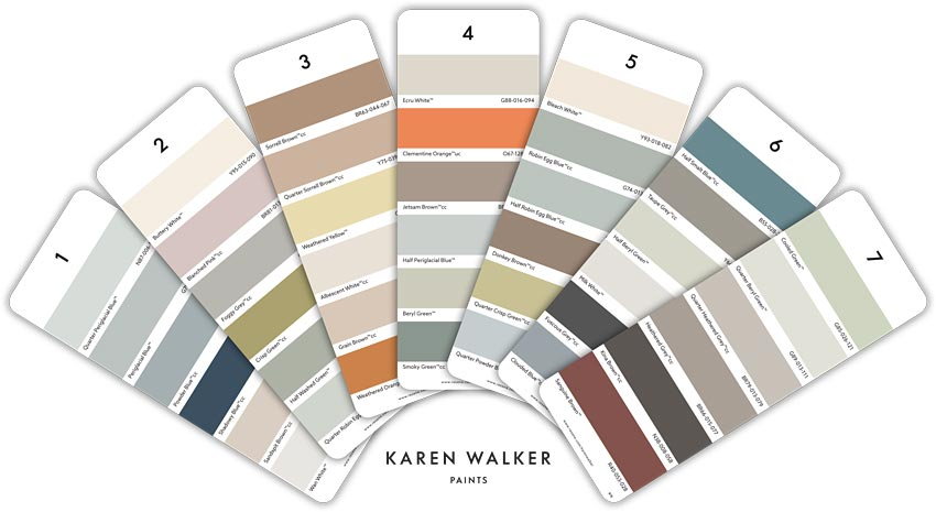 b860c7af705b Karen Walker Paints - Playing With Opposites is a feature of the latest Karen  Walker paint colour range