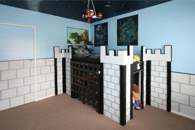 Castle Themed Houses Funky Castles Themed Kid's