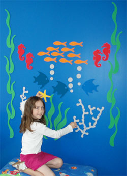 Resene Magnetic Paint And Morf Mural Magnets