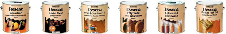 Resene Colorwood Enhance can be added to some Resene waterborne clears