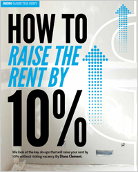 How to raise the rent