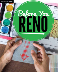 Before you reno
