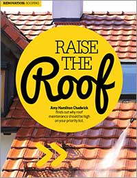 Roof maintenance should be high on your priority list