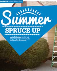 Summer spruce up