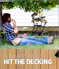 Adding and maintaing decking
