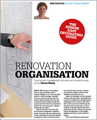 Renovation organisation