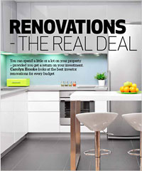 A well-planned and well-executed renovation should add value to your property and increase its tenant appeal and achievable rent