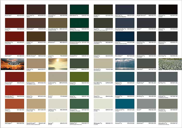 Resene Paint Colour Matches To Colorbond 174 And Colorsteel 174 Resene Paints