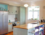 Choosing kitchen colour schemes