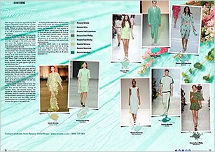 This season Mint comes back strong in all of its shades
