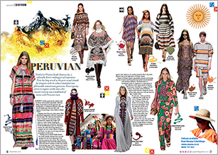 Peru has long served as the go-to visual stimuli for designers with its culture translated into fashionable mainstream garments.
