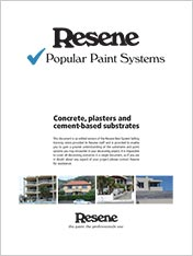 Concrete, plasters and cement-based substrates