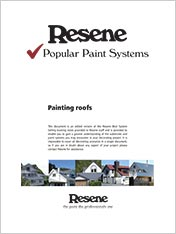 Painting roofs