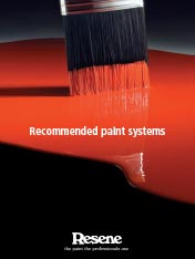Recommended paint systems