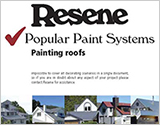 Popular Resene paint systems for painting roofs