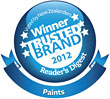 Resene is a Most Trusted Brand winner 2012