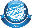 Resene is a Most Trusted Brand winner 2013