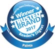 Most Trusted Brand for paint 2017