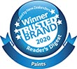 Resene is the winner of the Most Trusted Brand for paint 2020