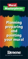 Resene Mural Masterpieces brochure fof advice on creating your own mural