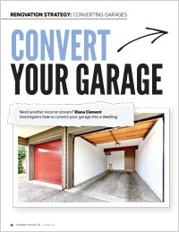 How to convert your garage into a dwelling