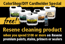 Clean up with this handy offer from Resene