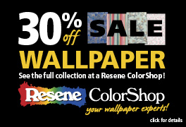 Save 30% off wallpaper!