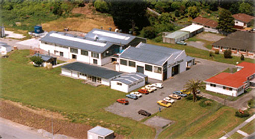 Upper Hutt - solvent based products factory