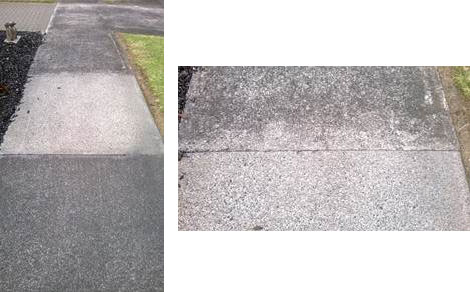 Rejuvenating old sandstone with resene deep clean for How to clean off spray paint on concrete
