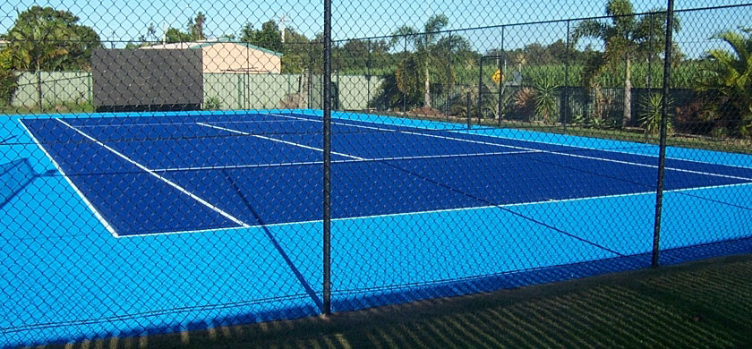 Tennis Courts Painted With Resene Tennis Court Coating