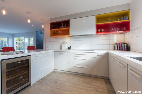 A Joyful Auckland Kitchen Resene Total Colour Awards 2014