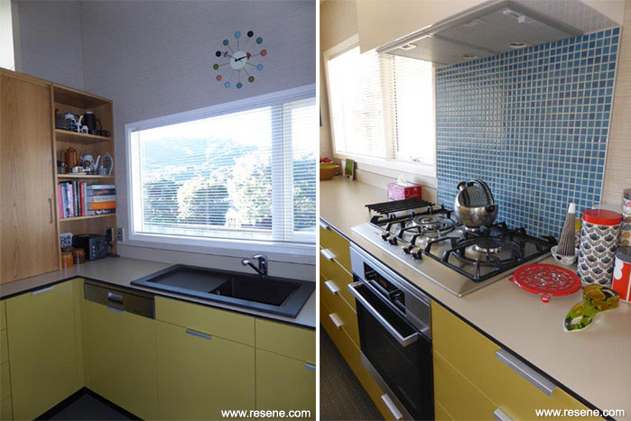 Kitchen From The Sixties Renovation Resene Total Colour Awards 2014