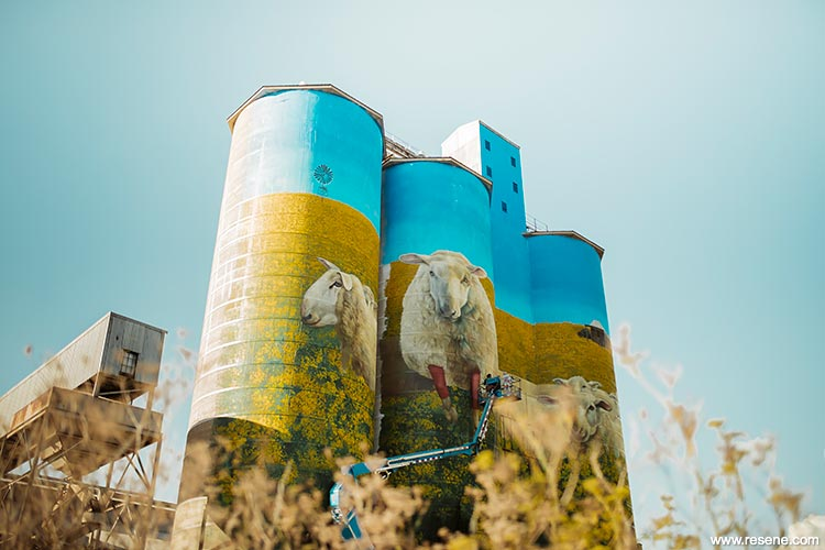 Merriwa Silos by Christopher Skyner of Authority Creative