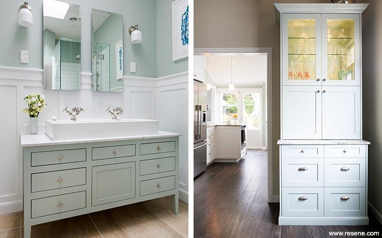 ... Clic Kitchen · Bathroom Colours View To Kitchen ...