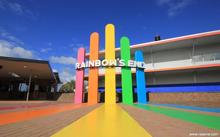 Image result for rainbow end