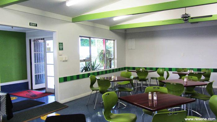 Waipareira Trust Canteen And Outdoor Eating Area Resene