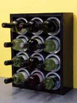 How to make a wine bottle rack