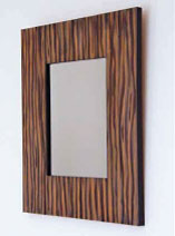 How to make a woodgrain mirror