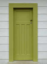 How to give a tired old door a fresh new look