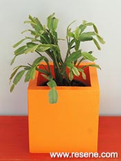 Make a pot plant holder