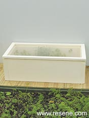 Build a mini cold frame
